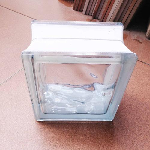Gạch kính lấy sáng 15×15 cm vân sóng K1501