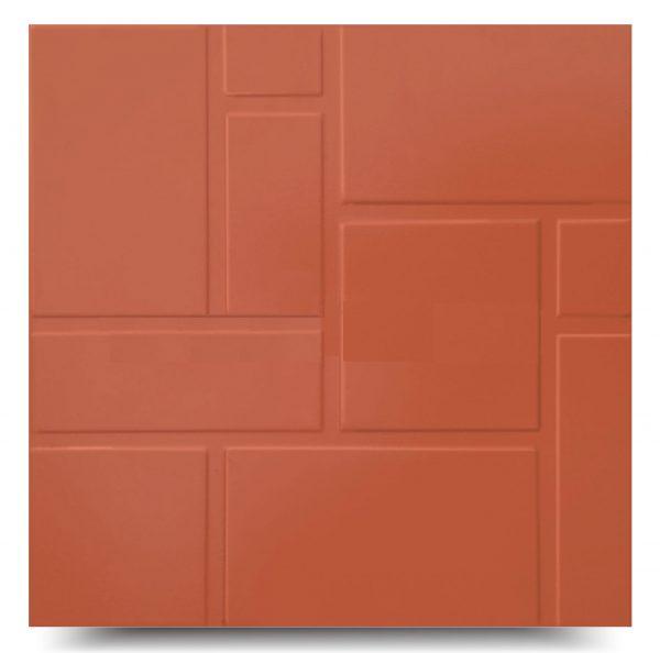 Gạch đỏ Hoàng Hà 40×40 tráng men HD402