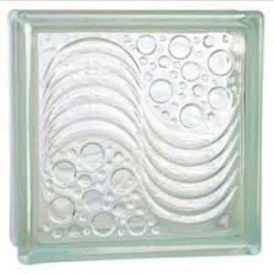 Gạch kính lấy sáng 20×20 cm bọt nước