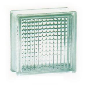Gạch kính lấy sáng Thái Lan 20×20 cm kẻ sọc K001