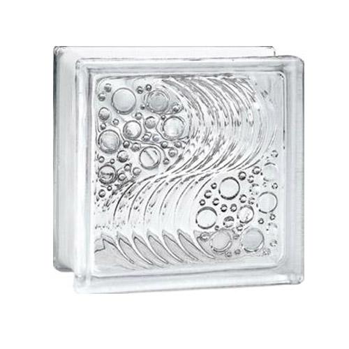 Gạch kính lấy sáng 20×20 cm bọt nước K013
