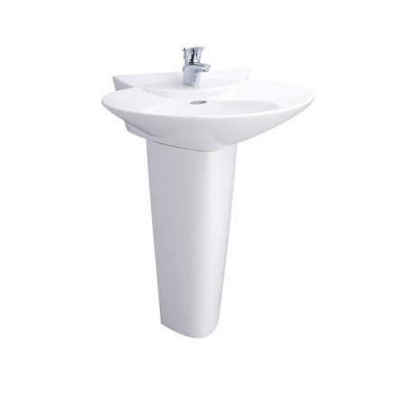 Chậu rửa lavabo chân dài TOTO LPT908C