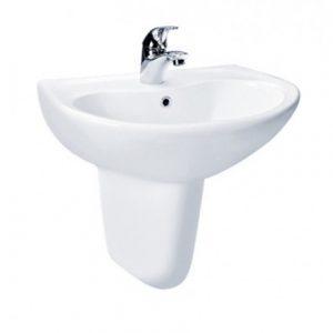 Chậu rửa lavabo chân lửng TOTO LHT240CS