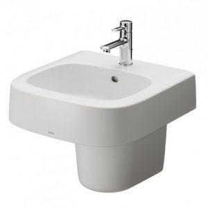 Chậu rửa lavabo chân lửng TOTO LHT767CR