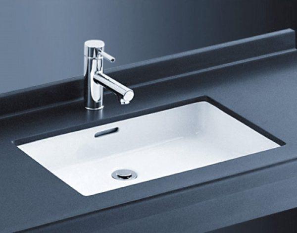 Chậu rửa lavabo đặt âm bàn TOTO LT520T
