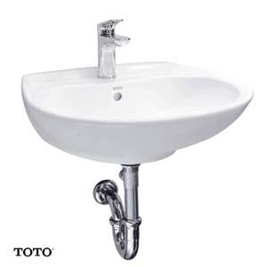 Chậu rửa lavabo treo tường TOTO LT300C