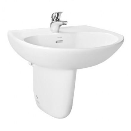 Chậu rửa lavabo chân lửng TOTO LHT239CR