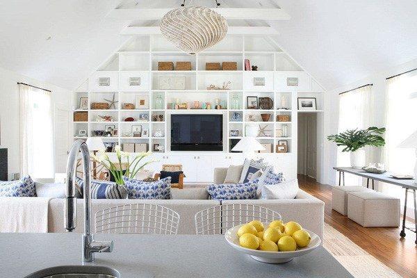 Bí quyết thiết kế phòng khách nhỏ trở nên rộng rãi hiện đại
