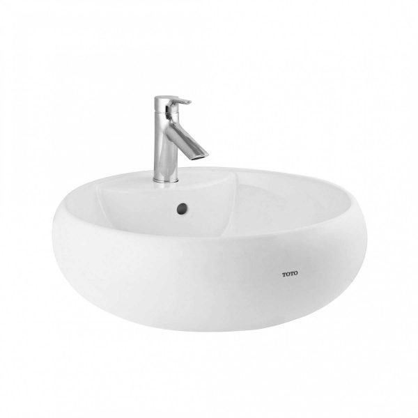 Chậu rửa lavabo đặt bàn TOTO LT367CR