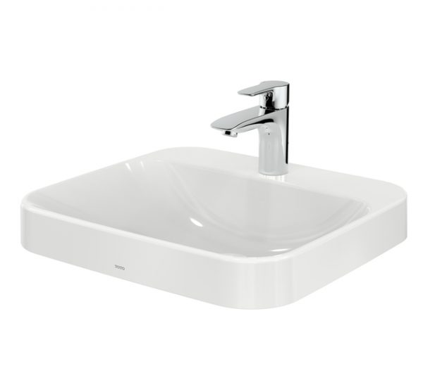 Chậu rửa lavabo đặt bàn TOTO LT5615C