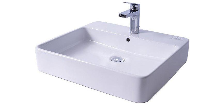 Chậu lavabo đặt bàn TOTO LT950C