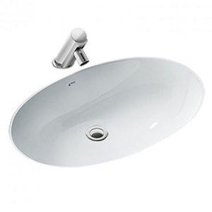 Chậu rửa lavabo đặt âm bàn INAX AL-2216V