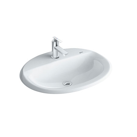 Chậu rửa lavabo đặt dương vành INAX AL-2395V