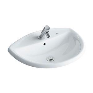 Chậu rửa lavabo đặt dương vành INAX AL-2396V