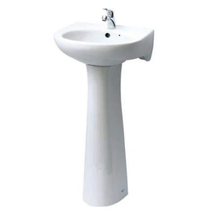 Chậu rửa lavabo chân dài INAX L-282V