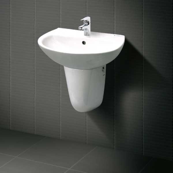 Chậu rửa mặt treo tường INAX L-285V