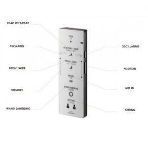 bảng điều khiển nắp rửa điện tử WASHLET TOTO TCF6531Z