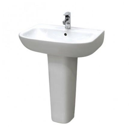 Chậu rửa lavabo chân dài INAX L298V