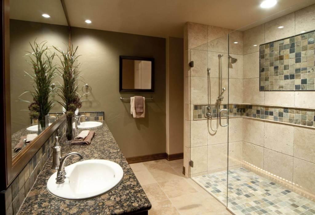 gạch mosaic phòng tắm