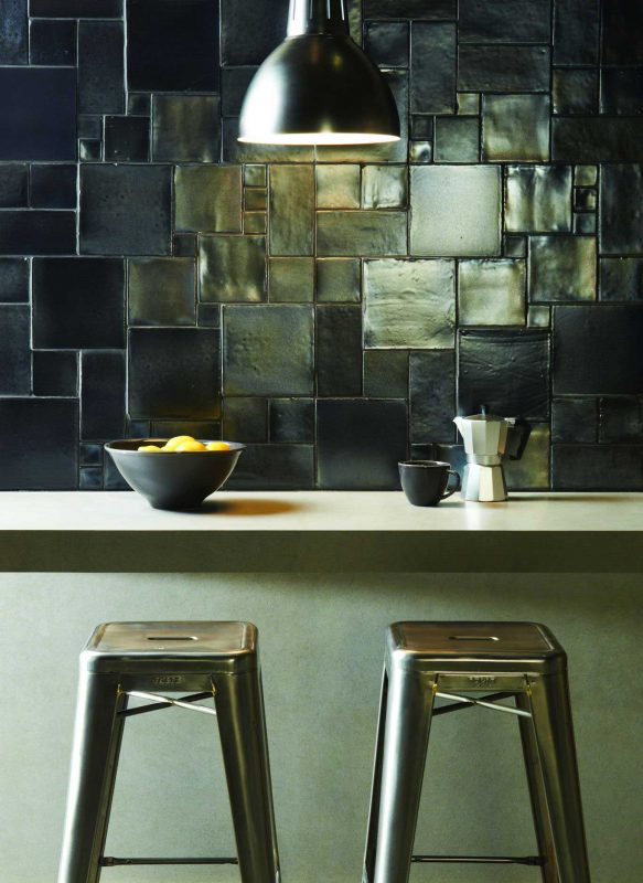 gạch đá ốp tường bếp