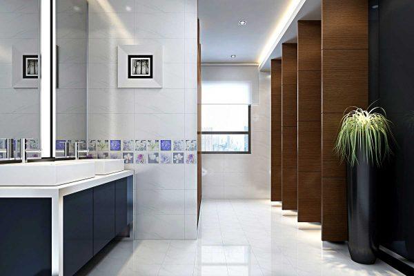 Bộ gạch ốp nhà vệ sinh Thạch Bàn THB-0028