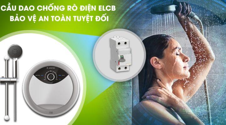 bình nóng lạnh Ariston RMC45E-VN chống rò điện
