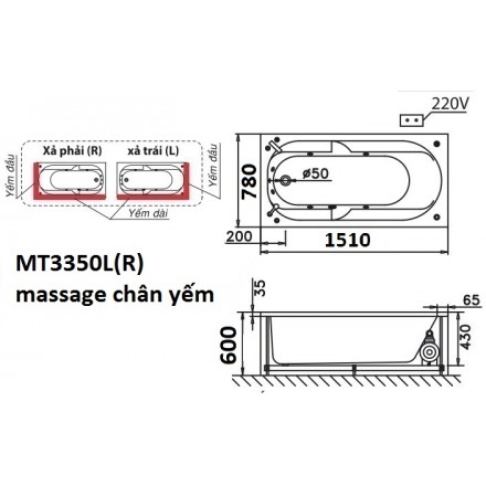 banve bon tam massage caesar mt3350l