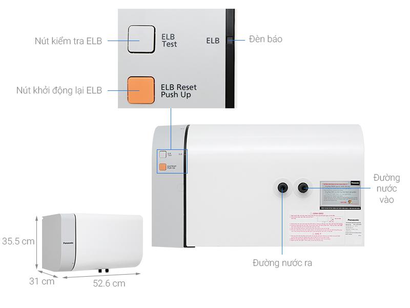 Bình nước nóng Panasonic DH 20HAM 20 lít