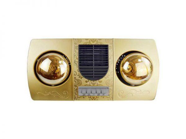 Đèn sưởi nhà tắm Kottman 2 bóng K2B-HW-G