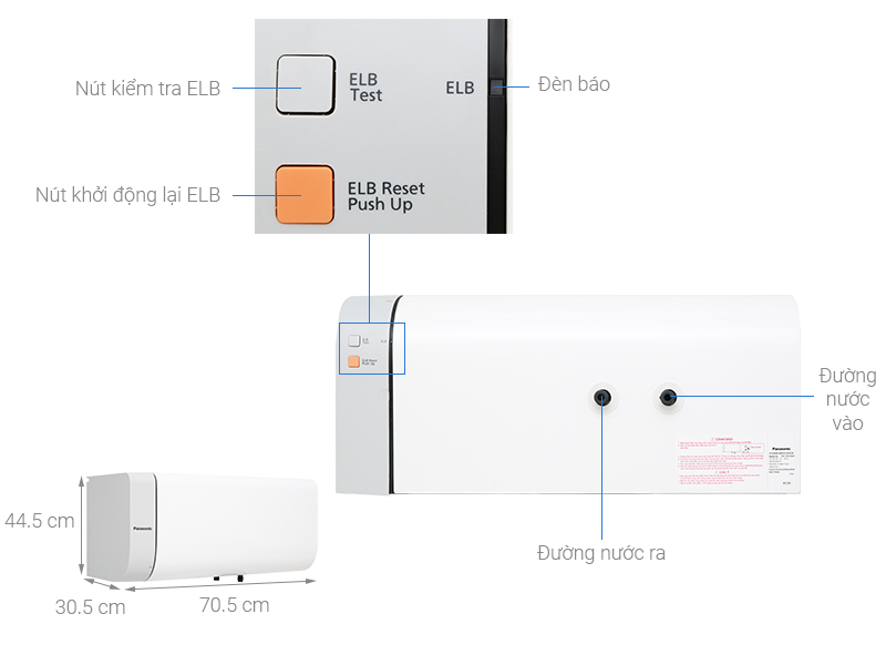 Bình nước nóng DH-30HAM 30 lít