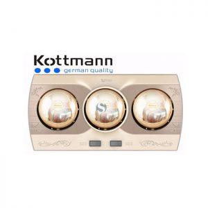 Đèn sưởi nhà tắm Kottmann 3 bóng K3BQ