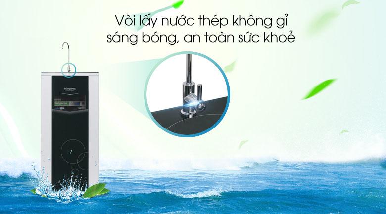 vòi lấy nước của máy lọc nước Kangaroo