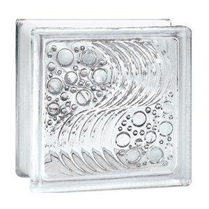 Gạch kính lấy sáng Indonesia 20x20 bọt nước