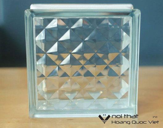 Gạch kính lấy sáng 20x20 quả trám nhập khẩu Thái Lan