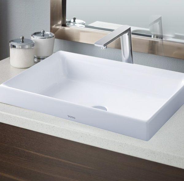 Chậu rửa lavabo đặt bàn TOTO L1716