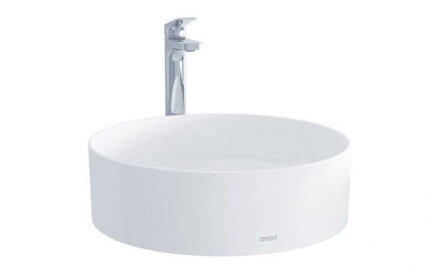 Chậu rửa lavabo đặt bàn TOTO LW572JWF