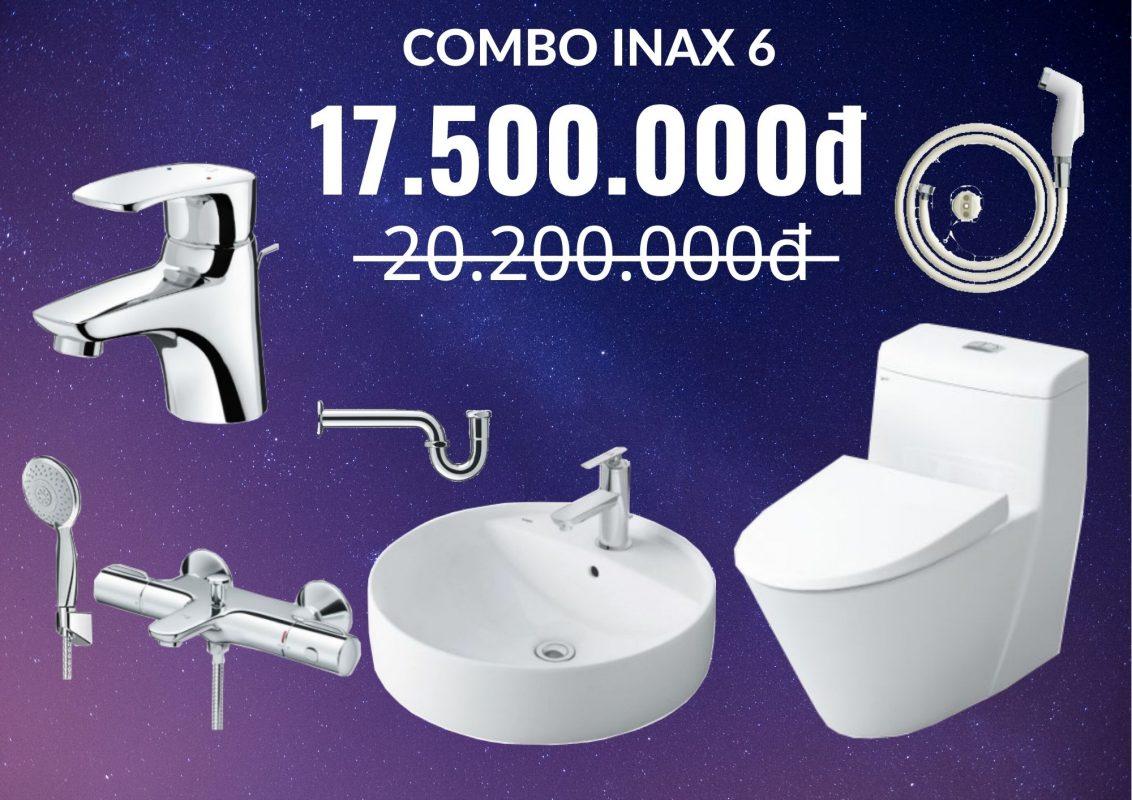 Combo Inax giảm giá 6