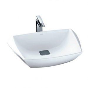 Chậu rửa mặt lavabo đặt bàn TOTO LT681
