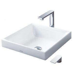 Chậu rửa lavabo đặt bàn TOTO LW1714B