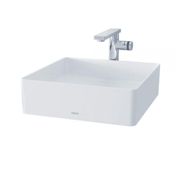 Chậu rửa lavabo đặt bàn TOTO LW574JWF