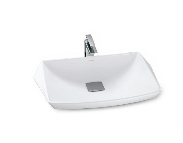 Chậu rửa lavabo đặt bàn TOTO LT682