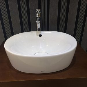 chậu rửa mặt TOTO LW760LB