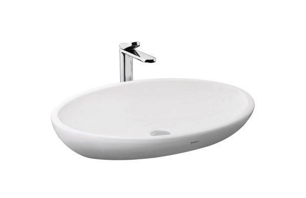 Chậu rửa lavabo đặt bàn TOTO LW818JW/F