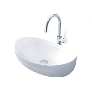Chậu rửa mặt lavabo đặt bàn TOTO PJS01WE#GW
