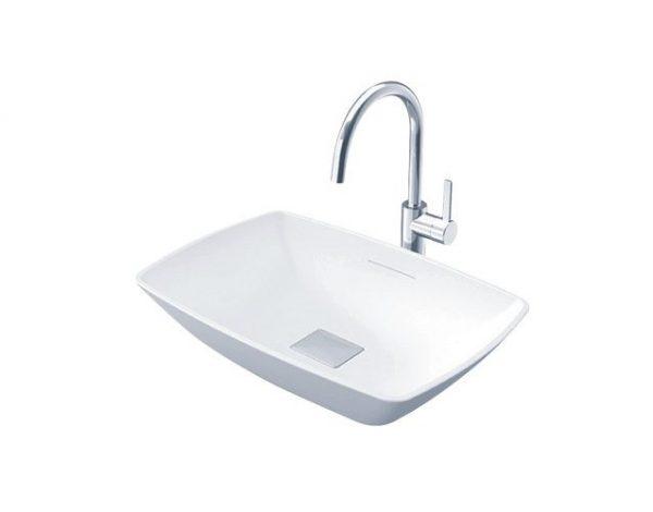 Chậu rửa mặt lavabo đặt bàn TOTO PJS02WE#MW