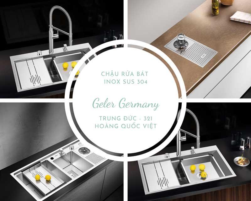 Chậu rửa bát Geler Germany